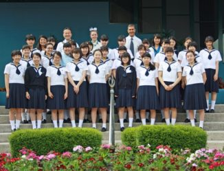 Farewell to Japanese International Study Tour students
